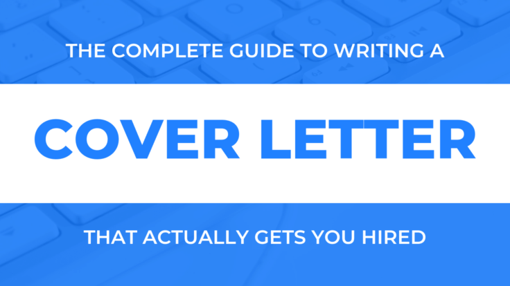 How To Write An Amazing Cover Letter [Free Templates & Examples]