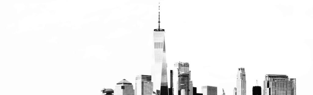 LinkedIn cover photo example of New York City skyline