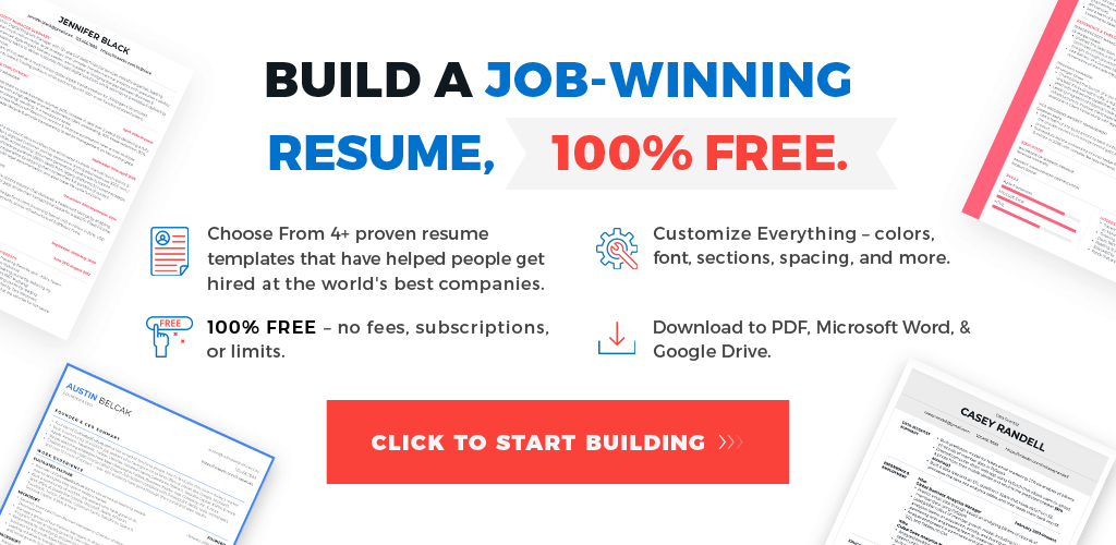 How To Write A Resume That Works in 2019 [Free Templates