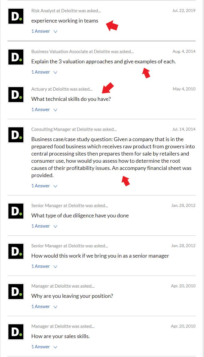 Glassdoor Video Interview Questions