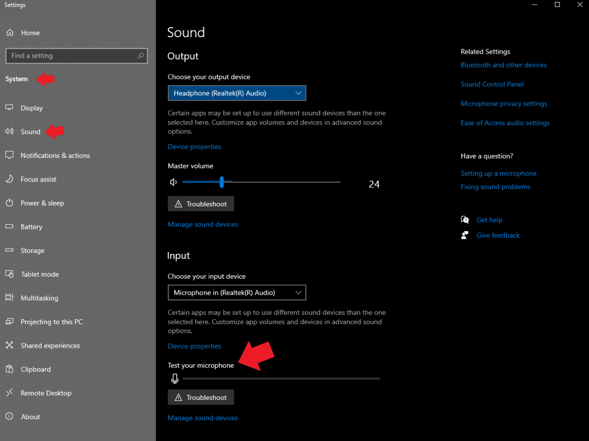 Testing Your Microphone On Windows or PC