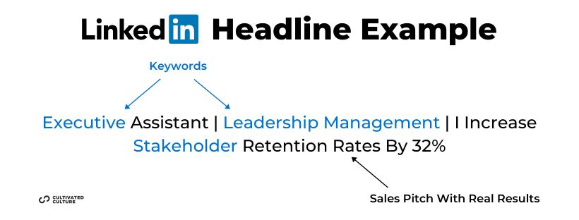 LinkedIn Headline Example Executive Assistant